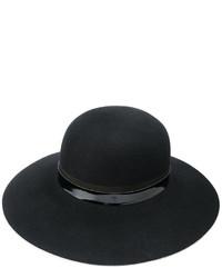 Chapeau noir Lanvin