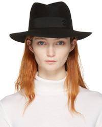 Chapeau noir Maison Michel