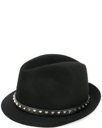 Chapeau noir Valentino