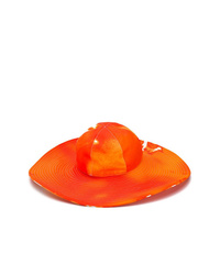 Chapeau orange MSGM