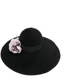 Chapeau orné noir Gucci