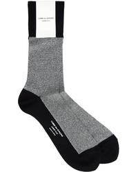 Chaussettes argentées