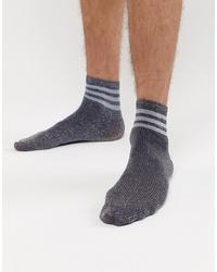 Chaussettes argentées ASOS DESIGN