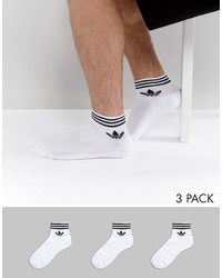 Chaussettes blanches adidas