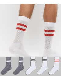 Chaussettes blanches ASOS DESIGN