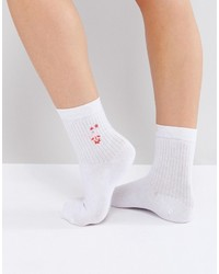 Chaussettes blanches Asos