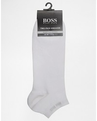 Chaussettes blanches Hugo Boss