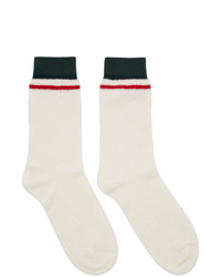 Chaussettes blanches Gucci