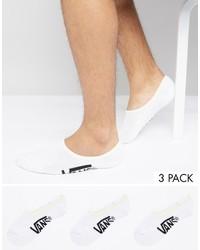Chaussettes blanches Vans