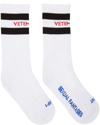 Chaussettes blanches Vetements