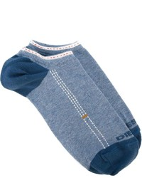 Chaussettes bleu clair Diesel