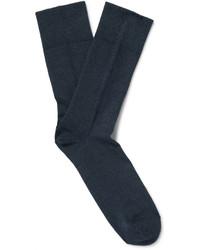 Chaussettes bleu marine Falke