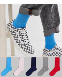 Chaussettes bleues ASOS DESIGN