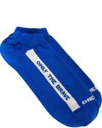 Chaussettes bleues Diesel