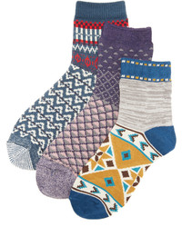 Chaussettes bleues Free People