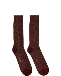 Chaussettes bordeaux Paul Smith