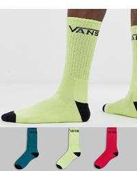 Chaussettes chartreuses Vans