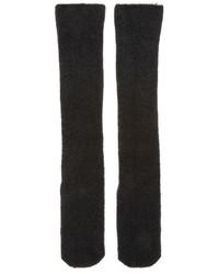 Chaussettes en laine en tricot noires Isabel Benenato