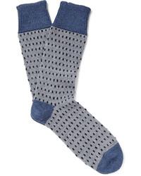 Chaussettes en laine grises Corgi