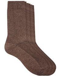 Chaussettes en laine marron Asos