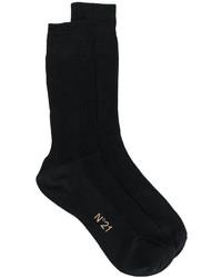 Chaussettes en soie noires No.21