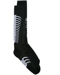 Chaussettes en tricot noires