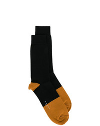 Chaussettes en tricot noires Marni
