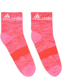 Chaussettes fuchsia adidas by Stella McCartney