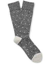 Chaussettes gris foncé