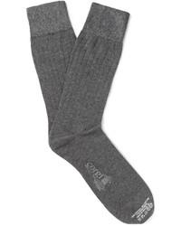 Chaussettes gris foncé Corgi