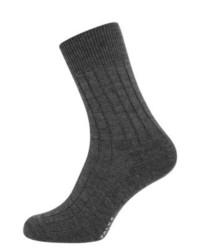 Chaussettes gris foncé Falke