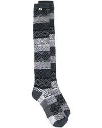 Chaussettes gris foncé Twin-Set