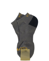 Chaussettes gris foncé Yohji Yamamoto