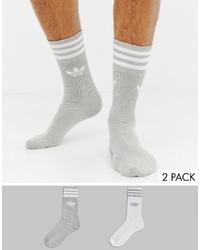 Chaussettes grises adidas Originals