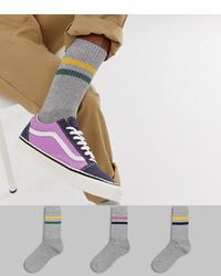 Chaussettes grises ASOS DESIGN
