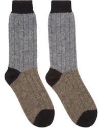 Chaussettes grises Haider Ackermann