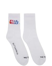 Chaussettes imprimées blanches Etro