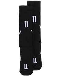 Chaussettes imprimées noires 11 By Boris Bidjan Saberi