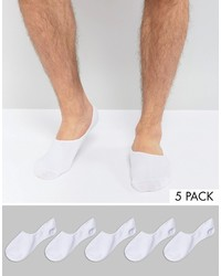 Chaussettes invisibles blanches Jack and Jones