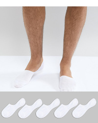 Chaussettes invisibles blanches New Look