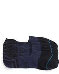 Chaussettes invisibles bleu marine