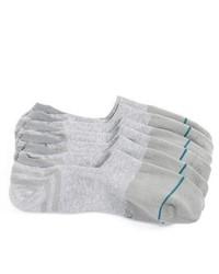 Chaussettes invisibles grises