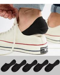 Chaussettes invisibles noires ASOS DESIGN