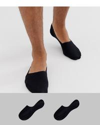 Chaussettes invisibles noires Calvin Klein