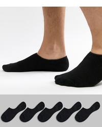 Chaussettes invisibles noires Jack & Jones