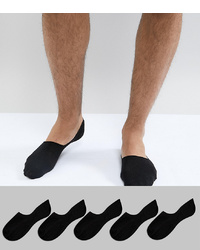 Chaussettes invisibles noires New Look