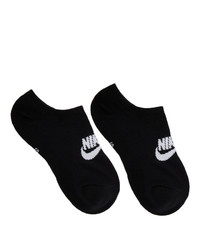 Chaussettes invisibles noires Nike