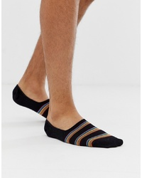 Chaussettes invisibles noires Paul Smith