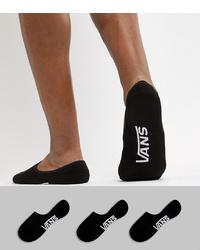 Chaussettes invisibles noires Vans