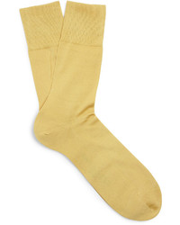 Chaussettes jaunes Falke